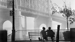 "Sc?ne du film ""Manhattan"" (1979) de Woody Allen da"