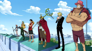 Straw_Hats_Stand_on_Courthouse